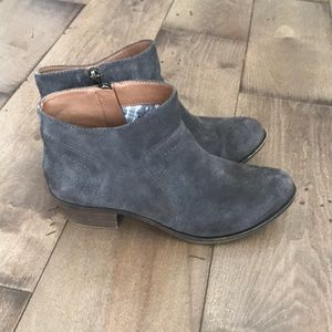 Lucky Brand Brolley Booties Ankle Boot Leather